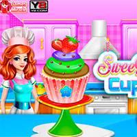 Игра Рецепт вкусных капкейков онлайн