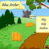 Игра Синий лучник онлайн