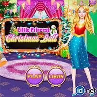 Игра Принцесса на рождественском балу