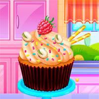 Игра Разноцветные маффины онлайн