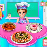 Игра Детская школа кулинарии онлайн