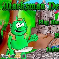 Игра Лучники-защитники онлайн