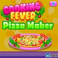 Игра Кулинарная лихорадка пиццмейкера онлайн