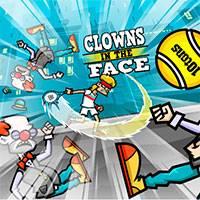 Игра Клоунам в лицо онлайн