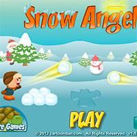 Игра Снежние ангелы онлайн