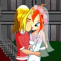 Игры поцелуи и раздевалки винкс