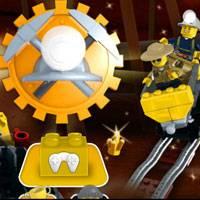 Игра Лего: По рельсам за кристаллами