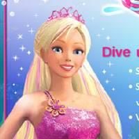 Барби игры для девочек играть о русалки