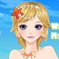 Игра Макияж морской принцессы онлайн