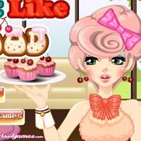 Игра Макияж и причёска в виде еды онлайн