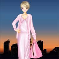 Игра Одевалка: Розовый мир