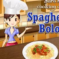 Игра Кулинария Сары: Спагетти онлайн