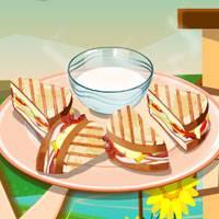 Игра Кулинария - Панини онлайн