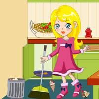 Игры для девочек убираться в доме