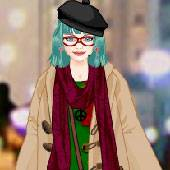 Игра Одевалка: Зимняя мода