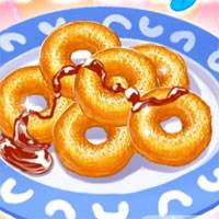 Игра Кулинария - готовим пончики онлайн