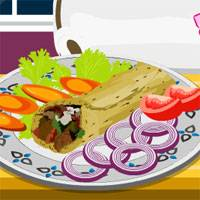 Игра Кулинария: Куриная шаурма онлайн