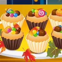 Игра Кулинария: Сладкие кексы онлайн