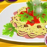 Игра Кулинария: Соус для спагетти онлайн