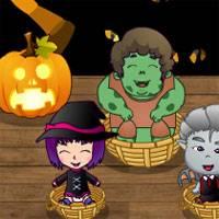 Игра Уход за малышами в Хеллоуин онлайн