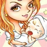 Игра Уход за малышом его мамой онлайн