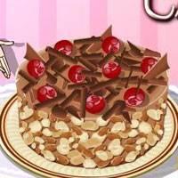 Игра Кулинария: Шоколадный чизкейк онлайн