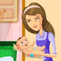 Игра Уход за малышами: Идеальная мама онлайн