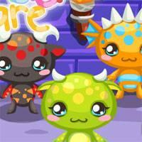 Игра Уход за малышами-монстрами онлайн