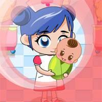 Игра Уход за малышами: Детская больница онлайн