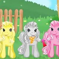 Игры ферма ухаживать за пони