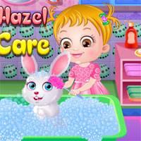 Игра Хейзел Заботиться о Кролике