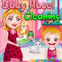 Игра Малышка Хейзел: Уборка