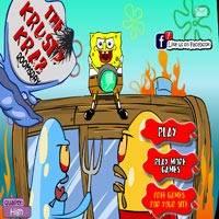 Игры спанч боб планктон крабсбургер