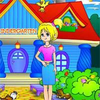 Игра Няня в Детском садике