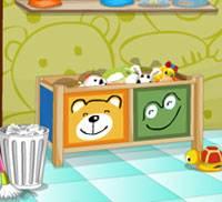 Игра Няня: Уборка комнаты