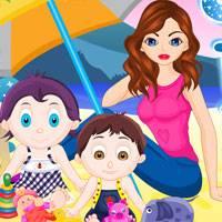 Игра Няня присматривает за Детьми