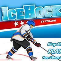 Играть в игру хоккей 2 на двоих