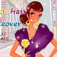 Игры макияж и причёски онлайн