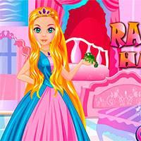 Игра Рапунцель Прически