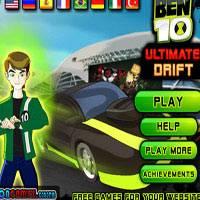 Игра Бен 10: Потрясающий дрифтинг онлайн