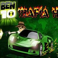 Игра Бен 10: Езда и стрельба онлайн
