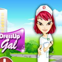 Игра Братц работает в больнице
