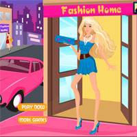 Игра Одевалка Модная Барби