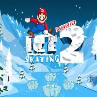 Игра марио катается на лыжах