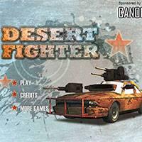 Игра Машинка-Воин в Пустыне