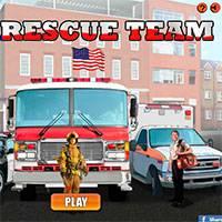 Игра Машинки - Спасатели