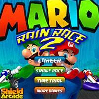 Игра Марио на Машинке