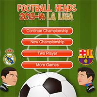 Игра Футбол головами чемпионат Испании
