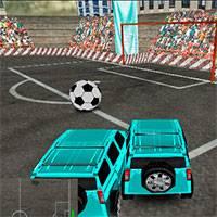 Игра Футбол на внедорожниках