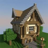 Строим дома в майнкрафт по картинкам